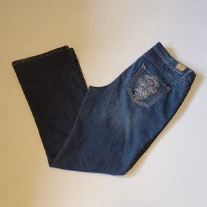Bandolino Denim Jeans Style Morgan Size 12